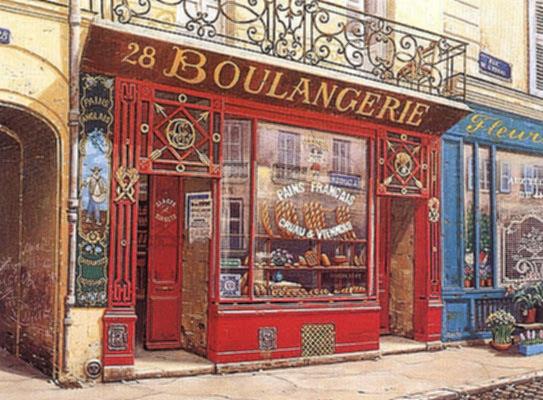28 Boulangerie (Canvas)